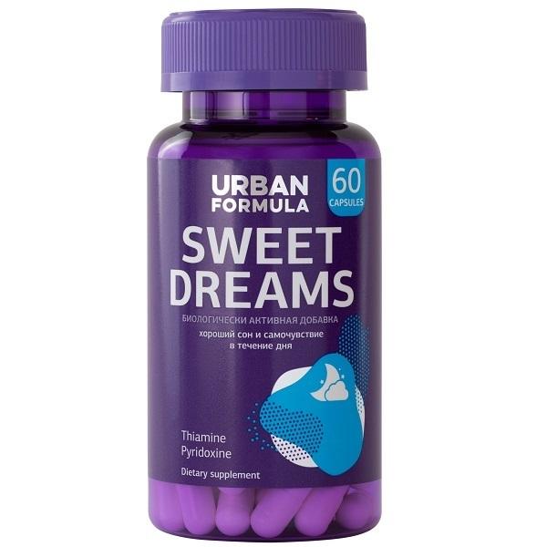 Купить Комплекс для хорошего сна Urban Formula Sweet Dreams капсулы 60 шт.