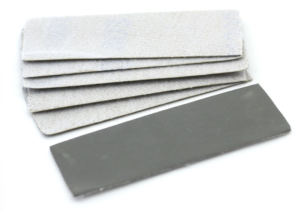 Купить 4611, JAS Наждачная бумага на липучке, P1500, 30x90 мм, 6 шт.,
