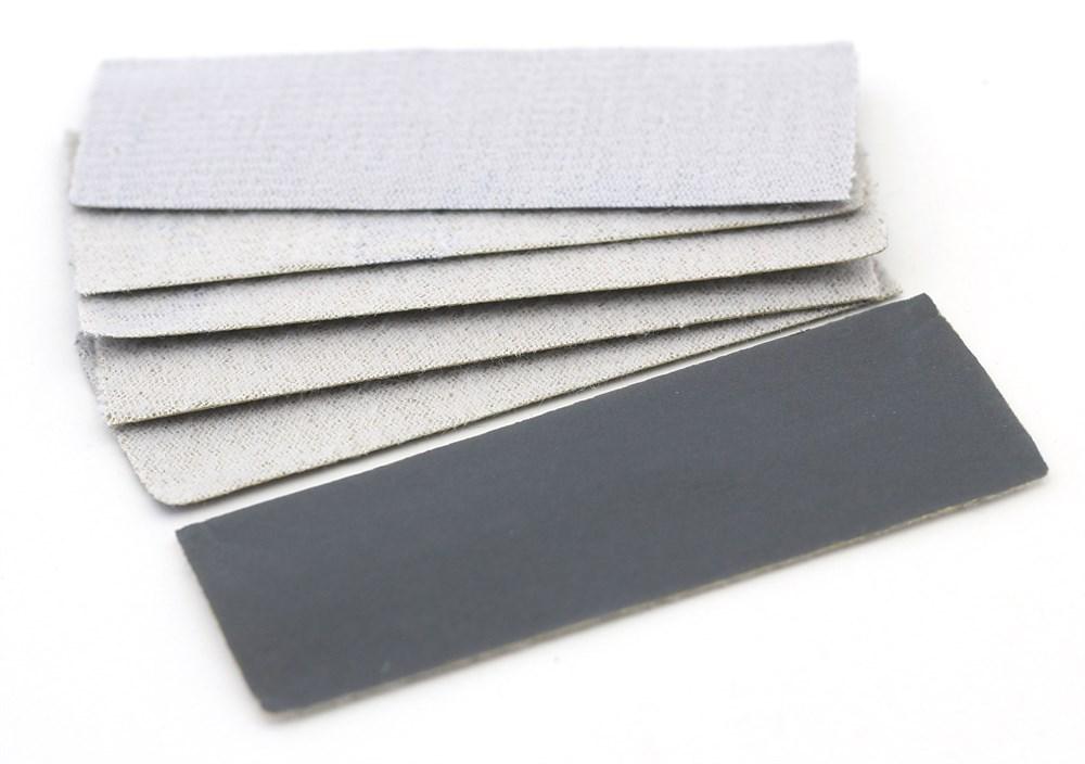 Купить 4613, JAS Наждачная бумага на липучке, P2500, 30x90 мм, 6 шт.,