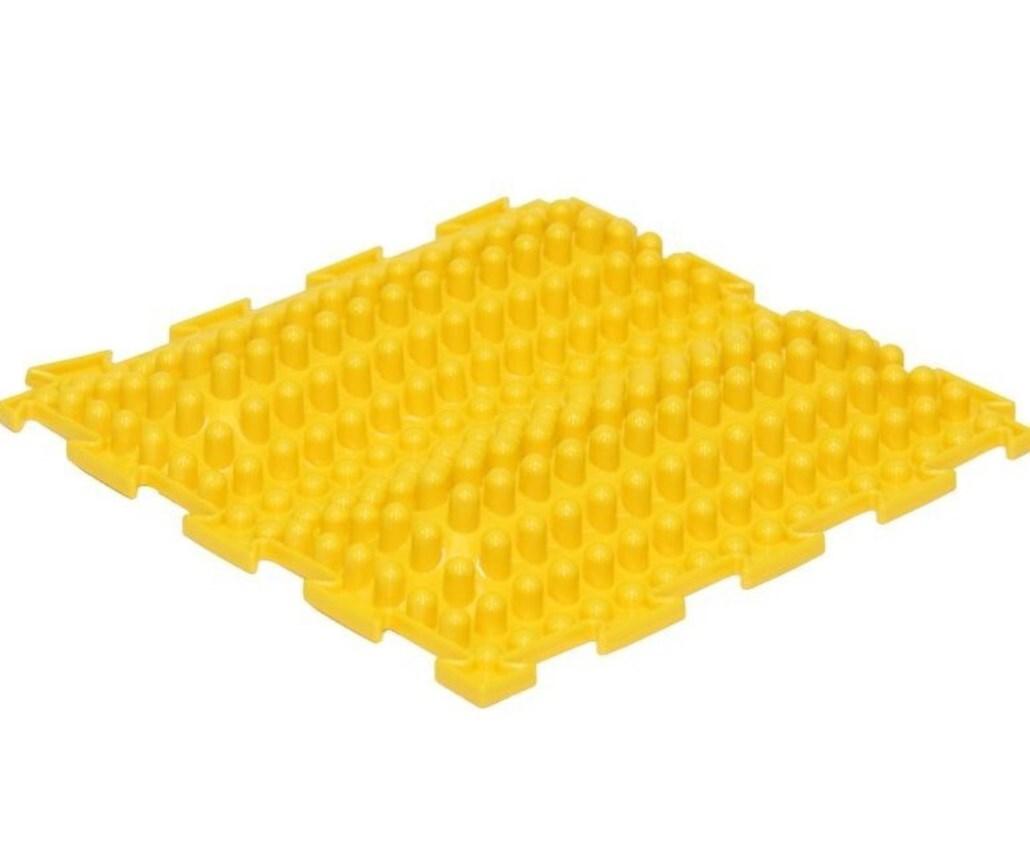 Массажный коврик Ортодон Волна жесткая желтая
