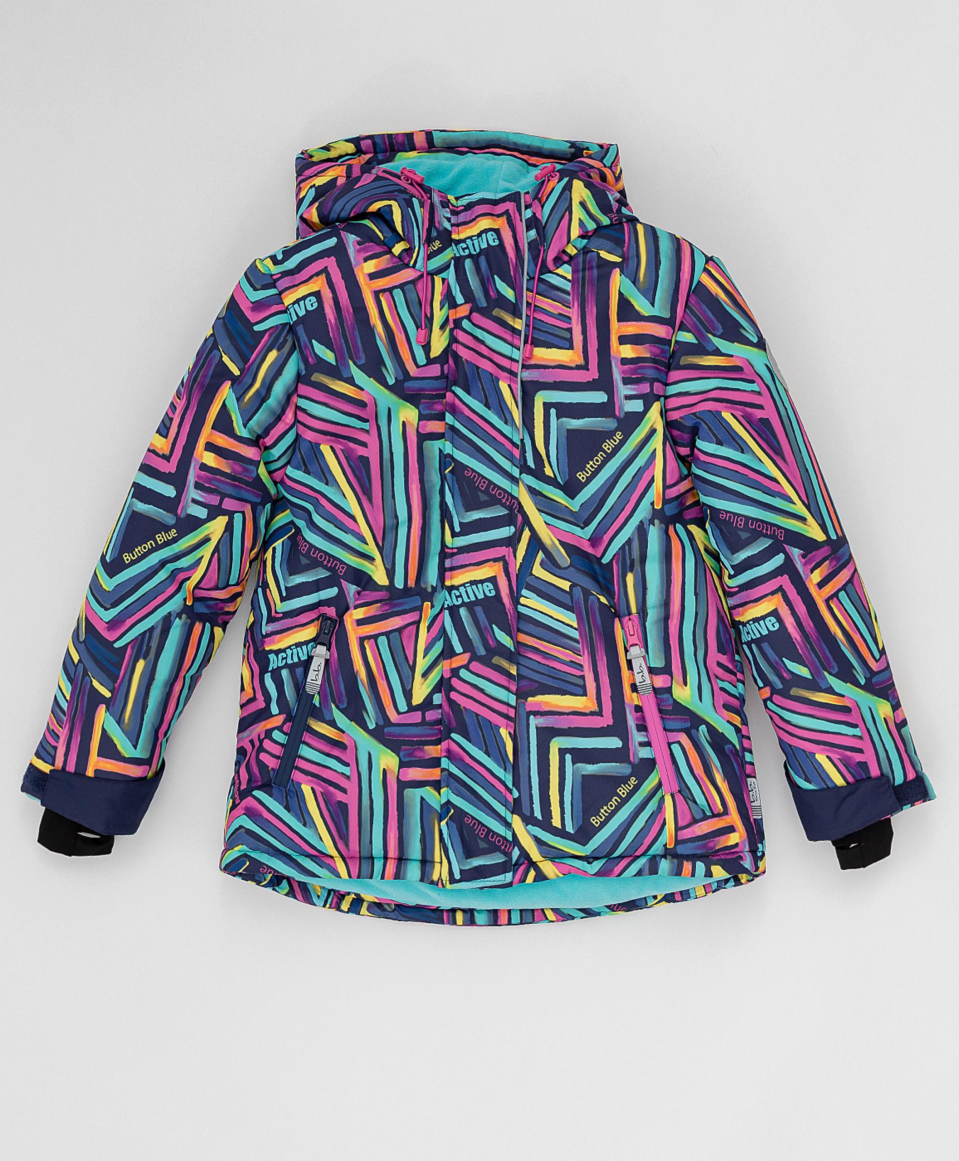 Зимняя куртка Active Button Blue 220BBGA41040013, размер