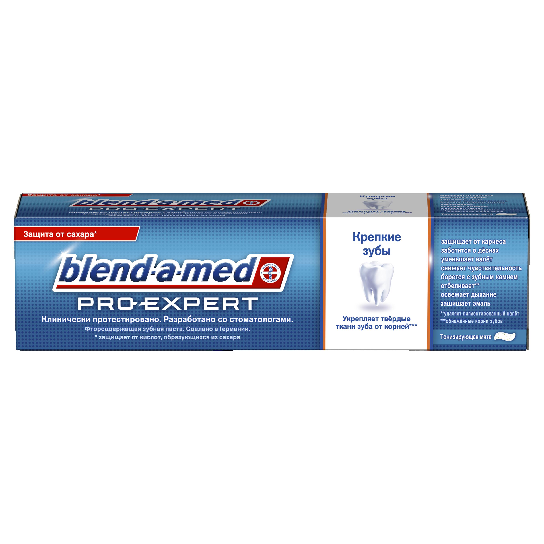 Купить Зубная паста Blend-a-med ProExpert Крепкие зубы Тонизирующая мята 100мл, зубная паста 81561918