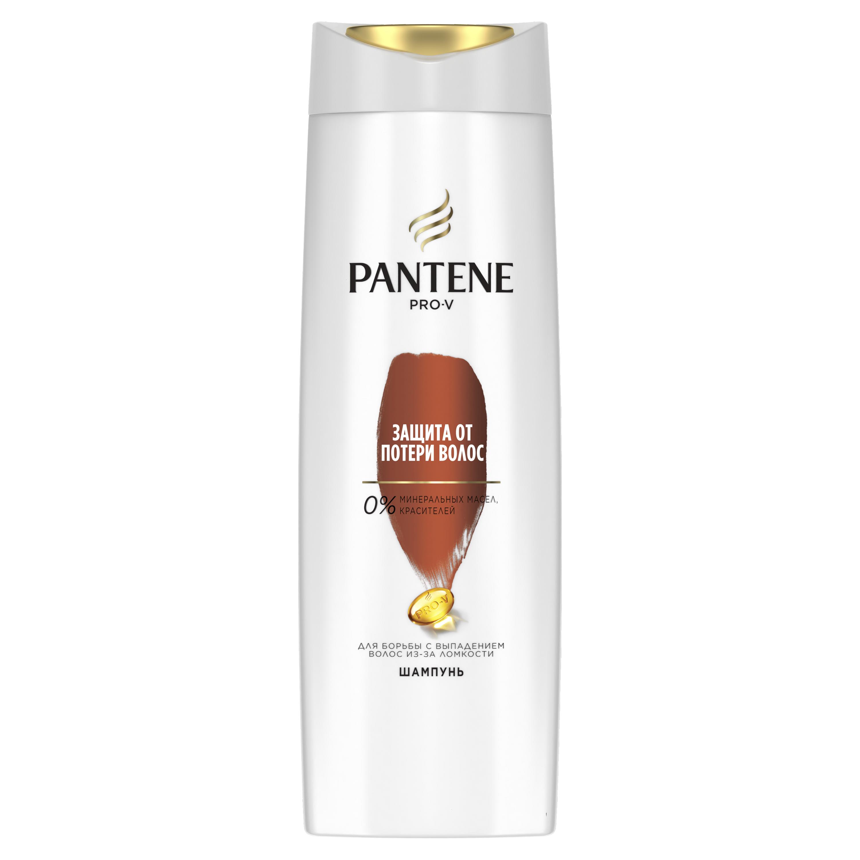 Купить Шампунь Pantene Защита от потери волос 400 мл, шампунь для женщин 81603914