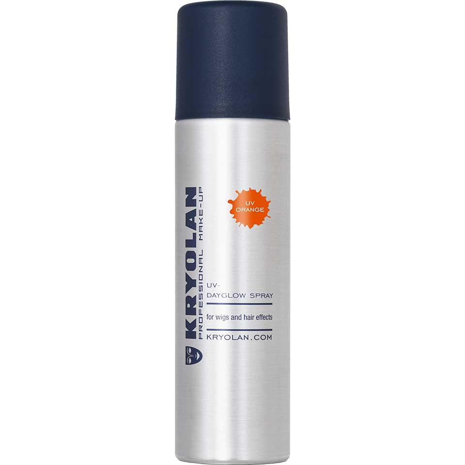 Купить Лак для волос Kryolan УФ/UV-Dayglow Spray, Цв: Orange 150 мл, Лак для волос УФ, 150 мл.