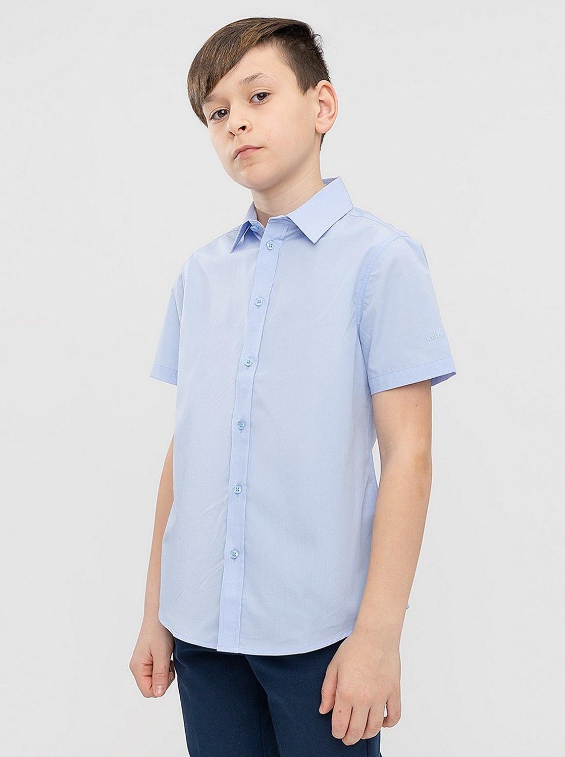 Сорочка голубая с коротким рукавом Button Blue 221BBBS23051800 р.170