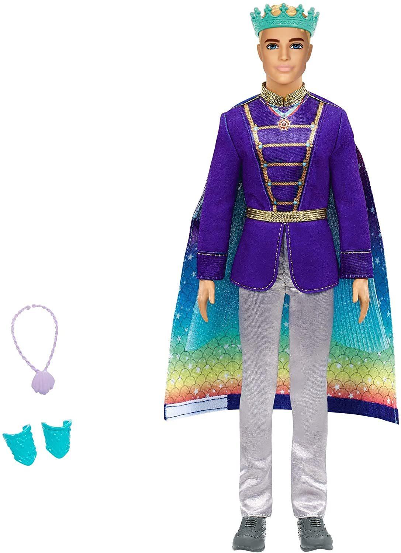 Кукла Barbie Кен Принц Русалки GTF93