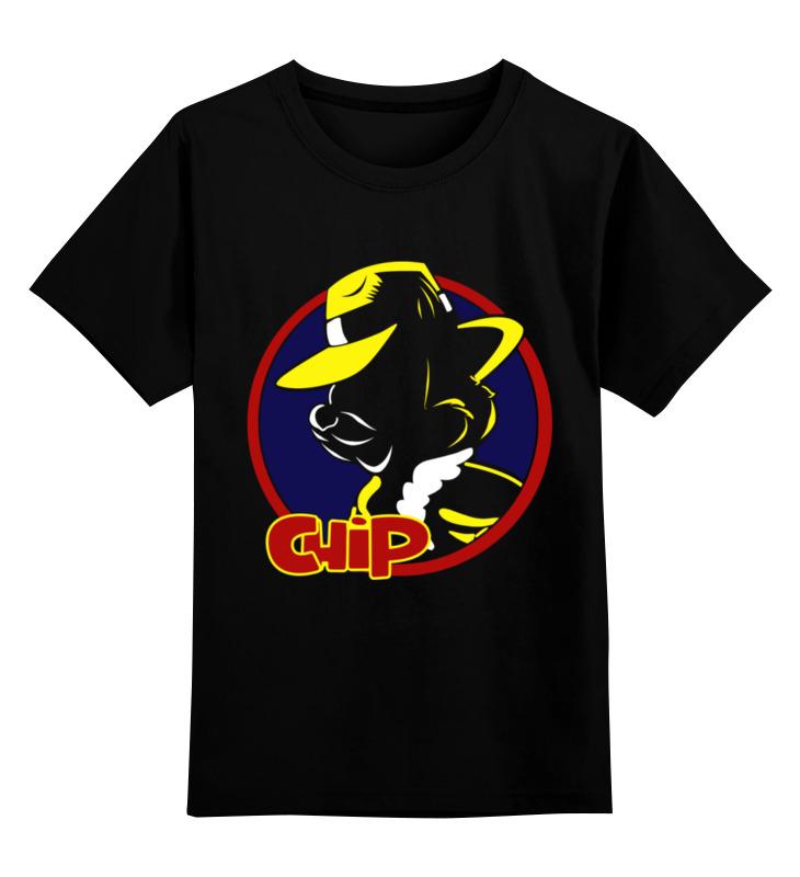Детская футболка Printio Бурундук цв.черный р.164 0000003315061 по цене 990