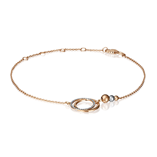 Браслет из золота PLATINA jewelry 05-0573-00-000-1111-04