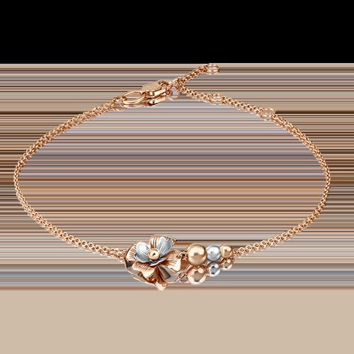 Браслет из золота PLATINA jewelry 05-0576-00-000-1111-65