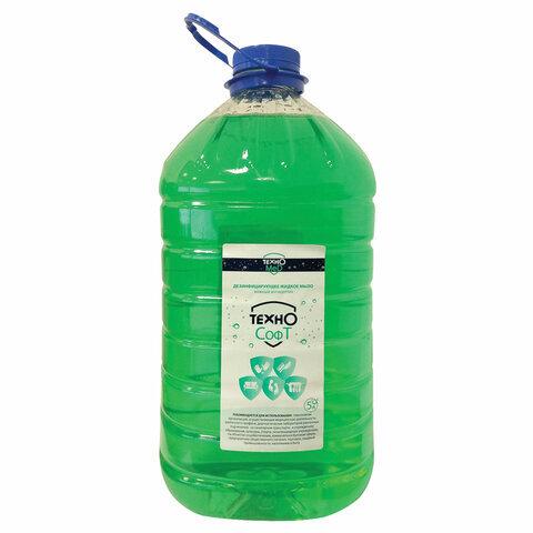 Купить Мыло жидкое ТЕХНОМЕД дезинфицирующее 5 л ТЕХНОСОФТ