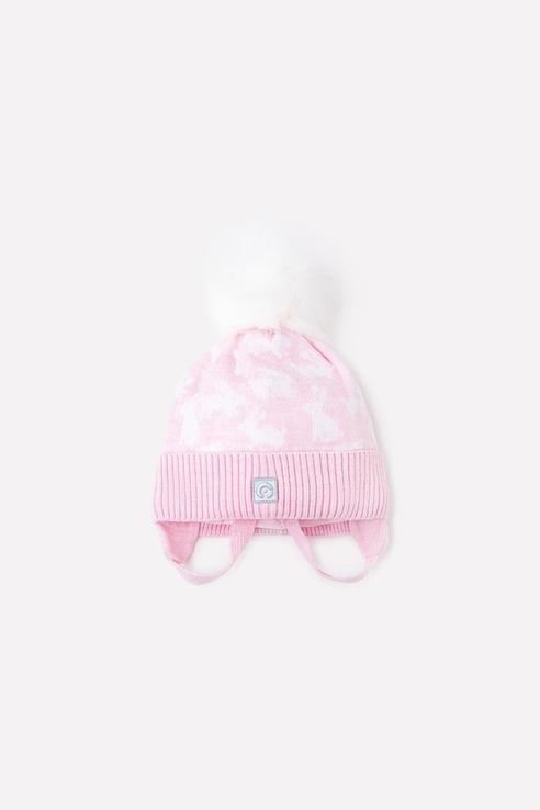 Шапка для девочек Crockid цв. розовый р-р. 50-52 КВ 20154/ш/светлая астра