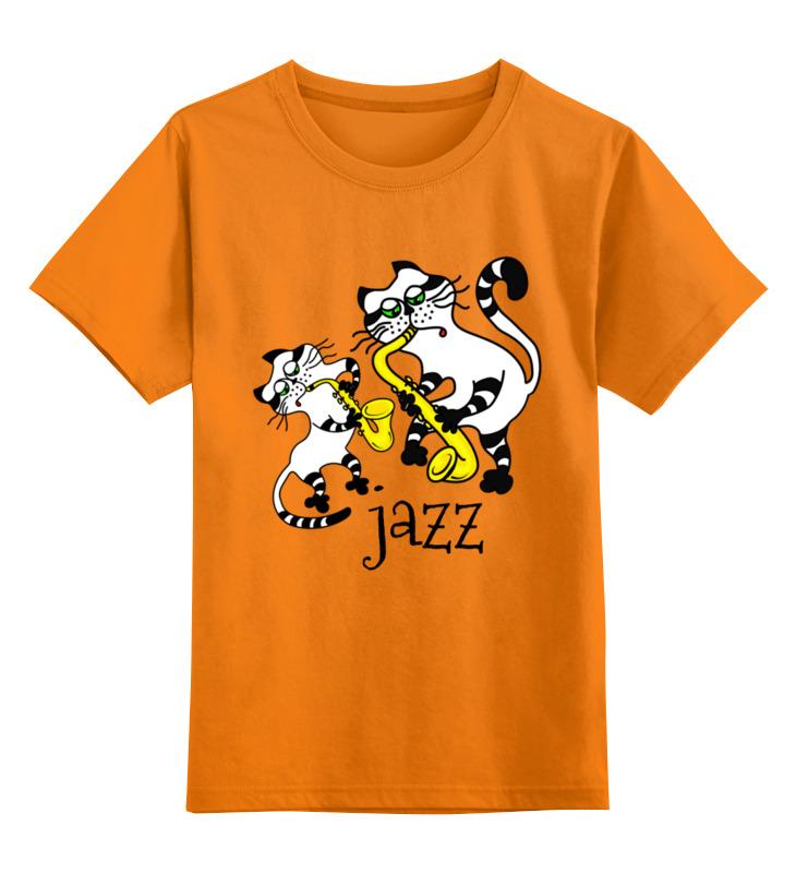 Детская футболка Printio Джаз-банд цв.оранжевый р.164 0000003392148 по цене 990