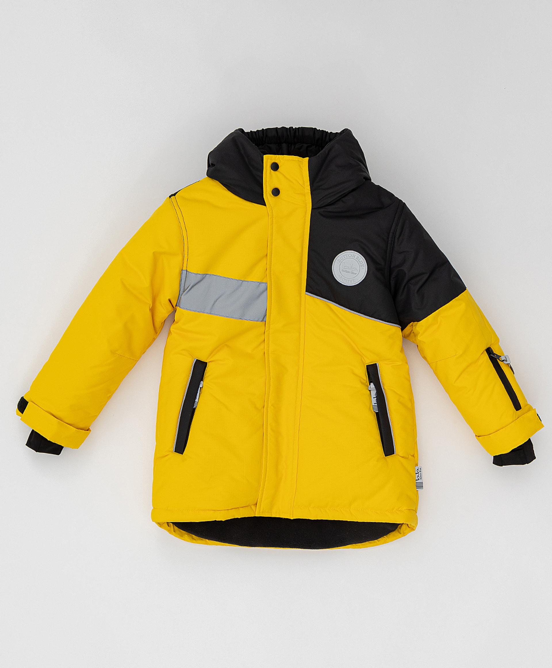 Зимнее пальто Active Button Blue 220BBBA45012700, размер 140,  - купить со скидкой