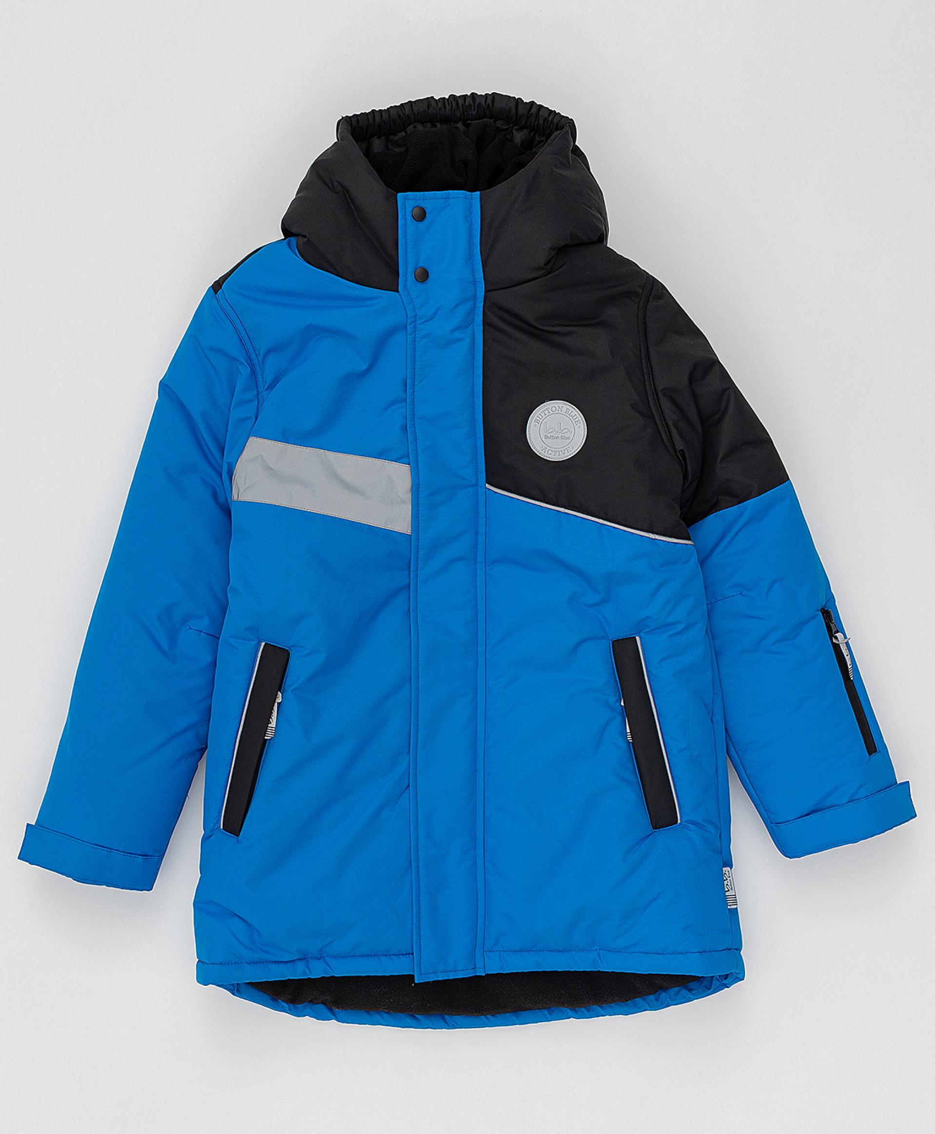 Зимнее пальто Active Button Blue 220BBBA45013700, размер