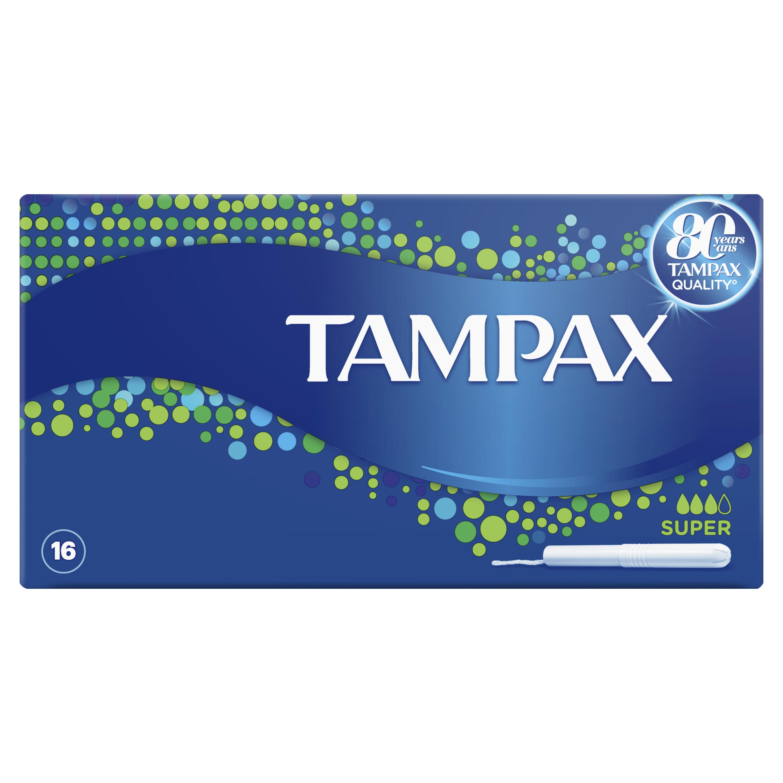 Купить Тампоны Tampax Super Duo 16шт, тампоны 83725161