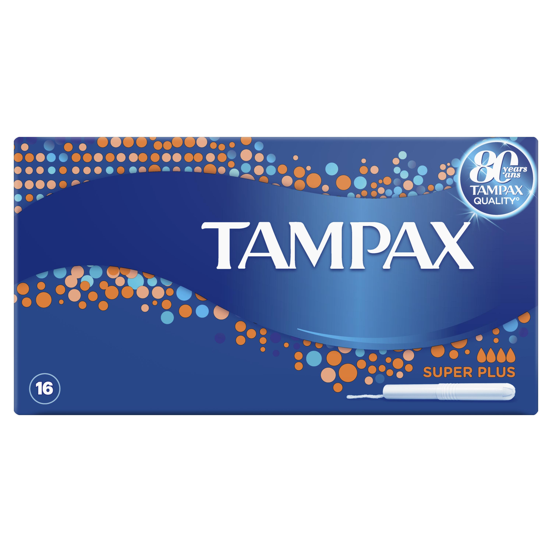 Купить Тампоны Tampax Super Plus Duo 16шт, тампоны 83725162