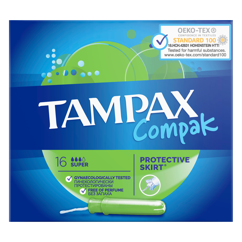 Купить Тампоны Tampax Super Duo 16шт, тампоны 83730736