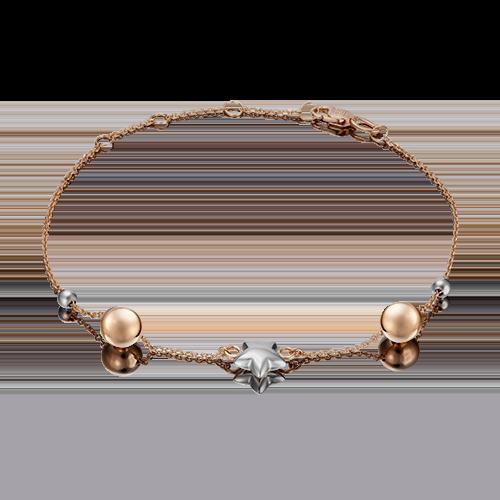 Браслет из золота PLATINA jewelry 05-0577-00-000-1111-01_17-21