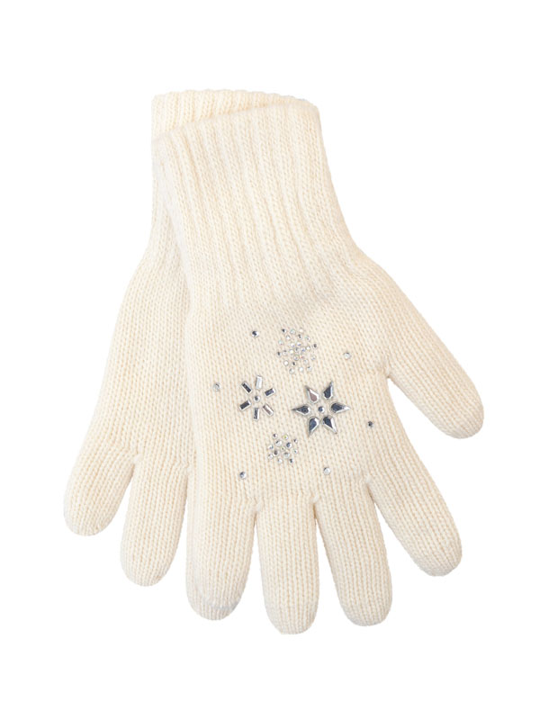 перчатки aleksa pc-1, р-р m 16 цв. белый