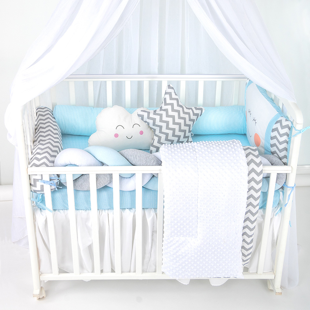Купить 1062 Комплект в кроватку My Little boy , Комплект в кроватку Золотой Гусь My Little boy разноцветный 1062,