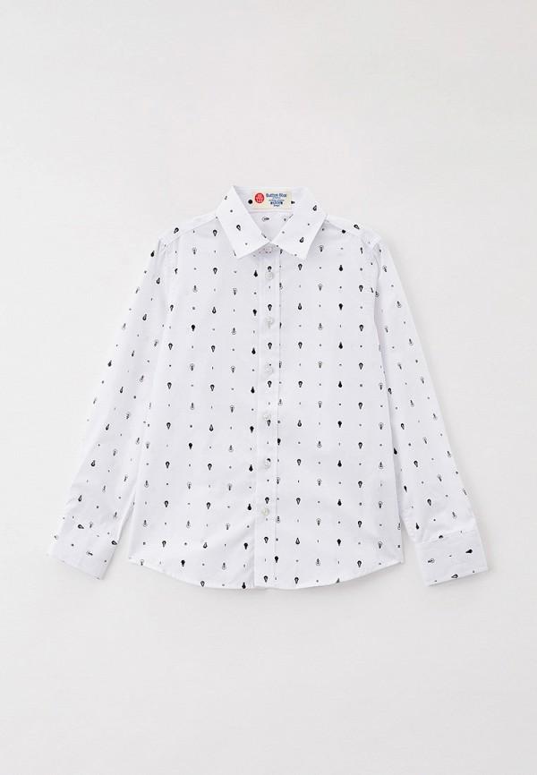 Сорочка белая Button Blue 221BBBS23010213 р.140