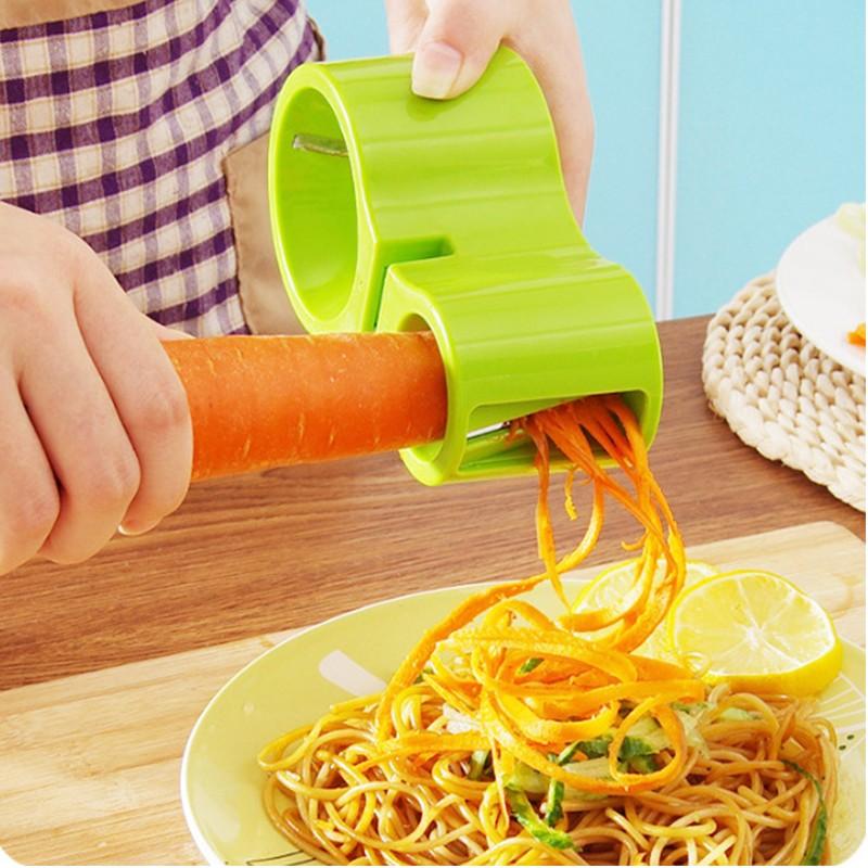 Нож спиральный двойной с точилкой для ножей