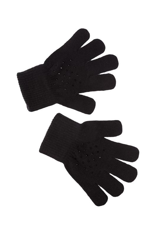 Перчатки PLAYTODAY 120127642 черный 17 Play Today