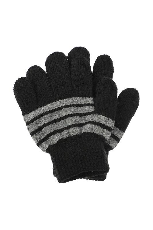 Перчатки PLAYTODAY 120217710 серый, белый 15 Play Today