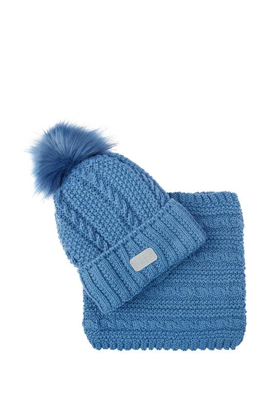 Комплект (шапка, снуд) PLAYTODAY 32013061 р.48
