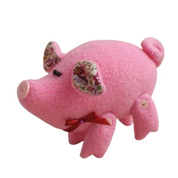 Купить Набор для изготовления текстильной куклы Ваниль Pig's story P001,