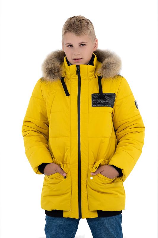 Купить 03523 ГОРЧИЧНЫЙ, Куртка TALVI 03523 р.140,