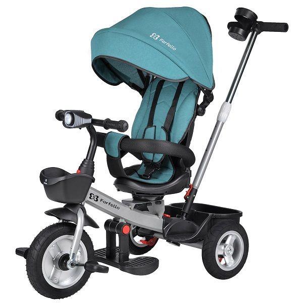 Купить Детский трехколесный велосипед Farfello 6299 Синий 6299,