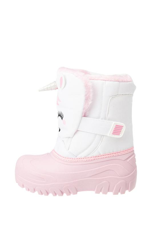 Сапоги-сноубутсы PLAYTODAY 32022158 белый, светло-розовый 25 Play Today