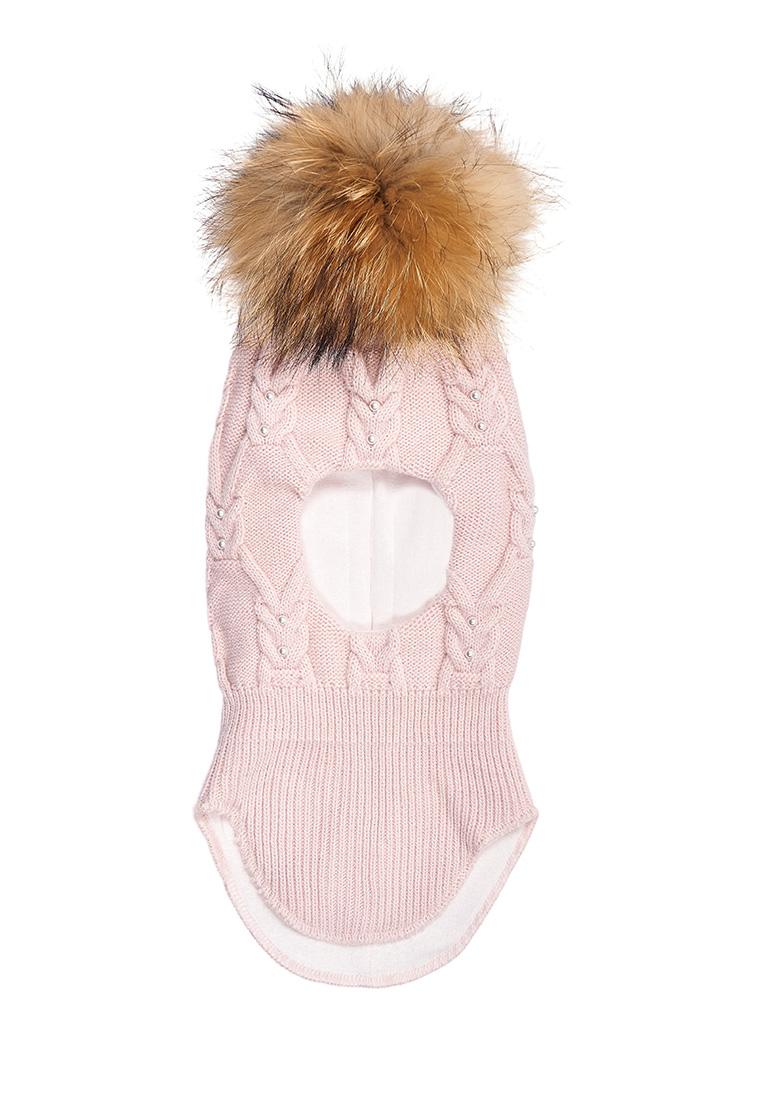 Купить Шапка-шлем для девочки Лекса Oldos цв.розовый р.48-50,