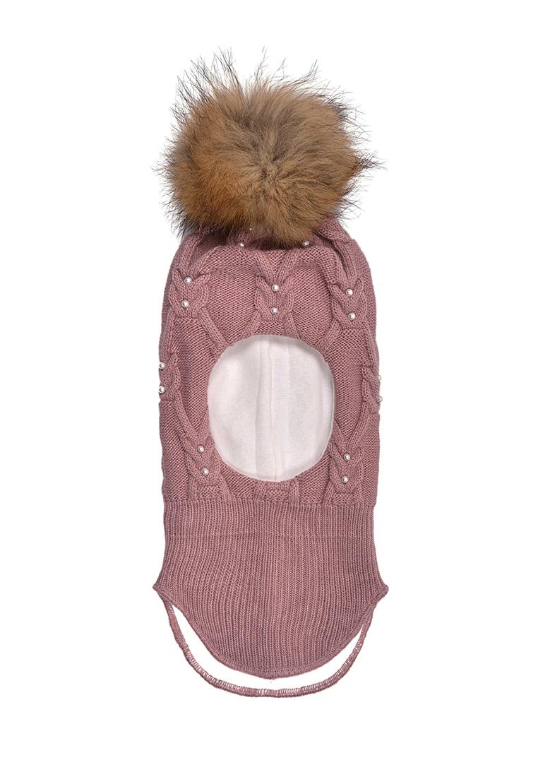 Купить Шапка-шлем для девочки Лекса Oldos цв.бежевый р.48-50,