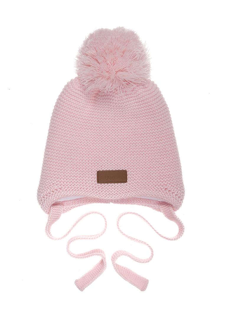 Купить Шапка для девочки Лекнес OAW202K1HW12 Oldos цв.розовый р.48-50,