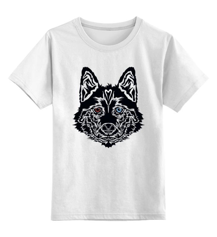 Детская футболка Printio Песик цв.белый р.128 0000003459278 по цене 790