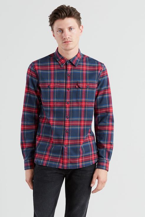 Рубашка мужская Levi's 1957300880 разноцветная 44