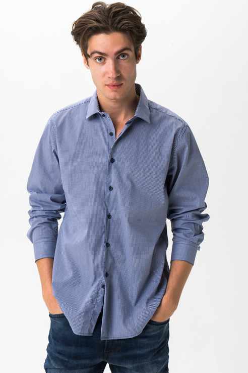 Рубашка мужская Tom Farr T M1003.67 синяя 46