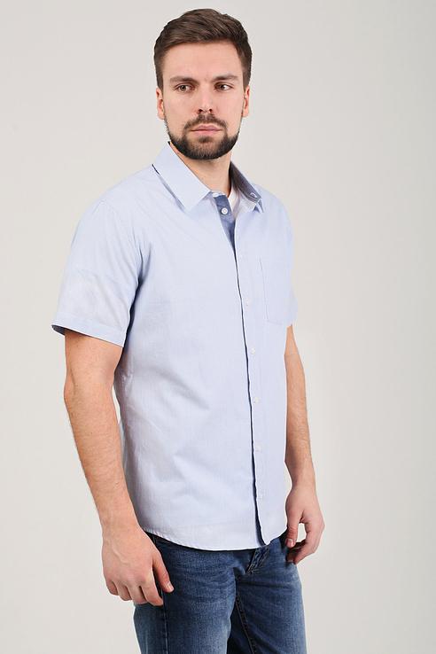 Рубашка мужская Tom Farr T M7018.35 синяя 46