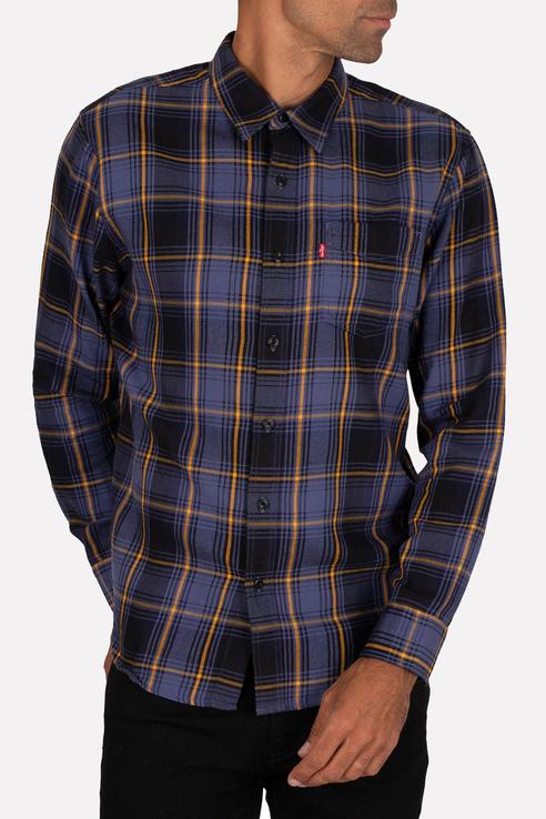 Рубашка мужская Levi's 8574600290 синяя 46