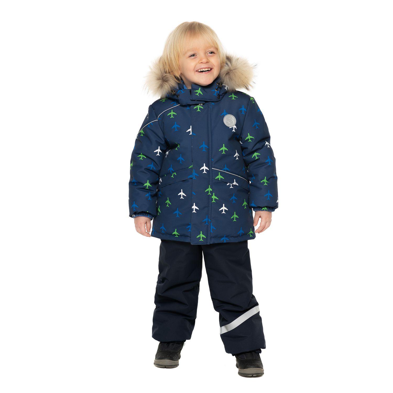 Комплект куртка/полукомбинезон Stella'S Kids Fly, цвет: синий р.104 М-568/1