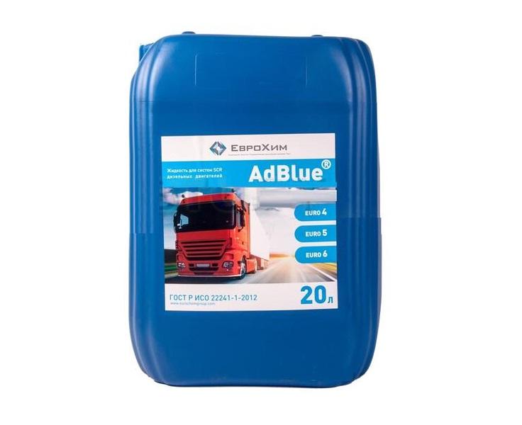 Водный раствор мочевины AdBlue 20 л