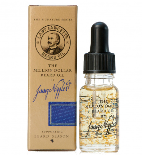 Купить Масло для бороды Captain Fawcett Jimmy Niggles Million Dollar Beard Oil Travel Sized 10 мл