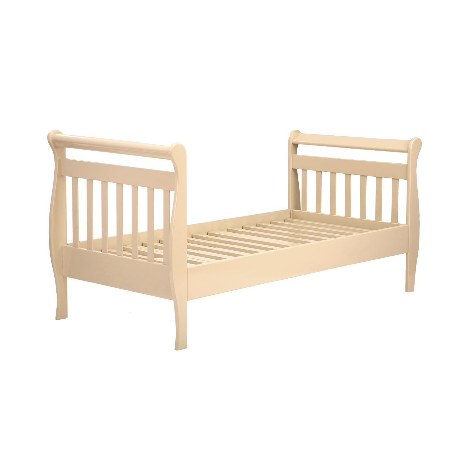 Купить БИ 04 Кровать одинарная подростковая Юнона 1600х800 б/ограждений ваниль, Лель, Детские кровати