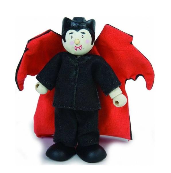 Купить Кукла деревянная Le Toy Van Дракула 10 см, BK966, Классические куклы
