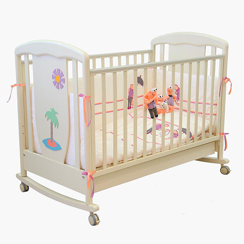 Купить Детская кроватка VITALIA 125x65 Слоновая кость, Papaloni,