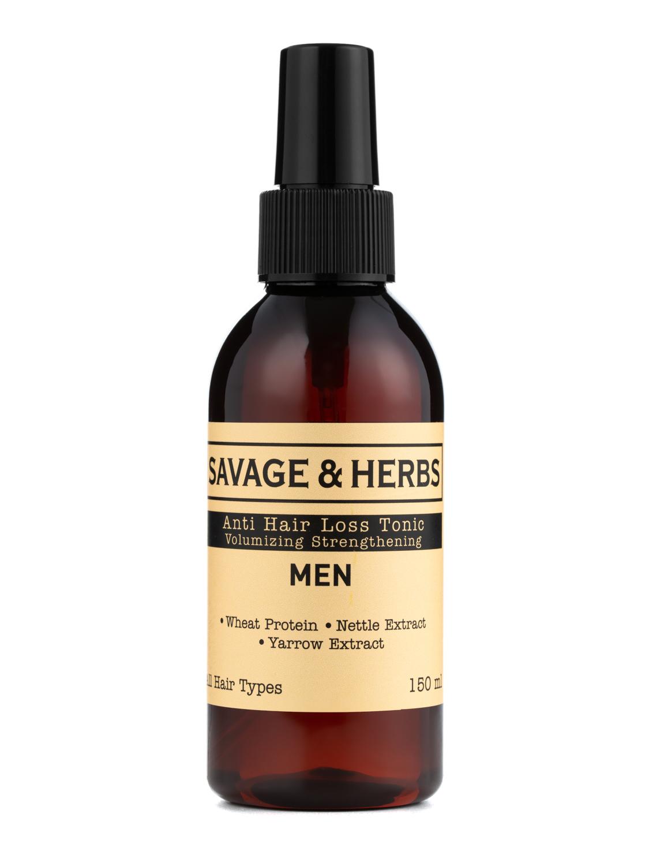 Купить Мужской травяной тоник-спрей Savage&Herbs против выпадения волос 150 мл