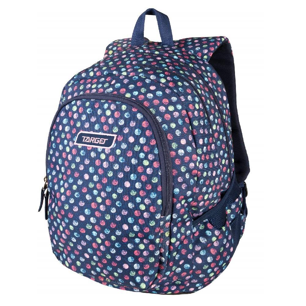 Купить Рюкзак детский Target 3 zip Target Confetti jeans 26294,