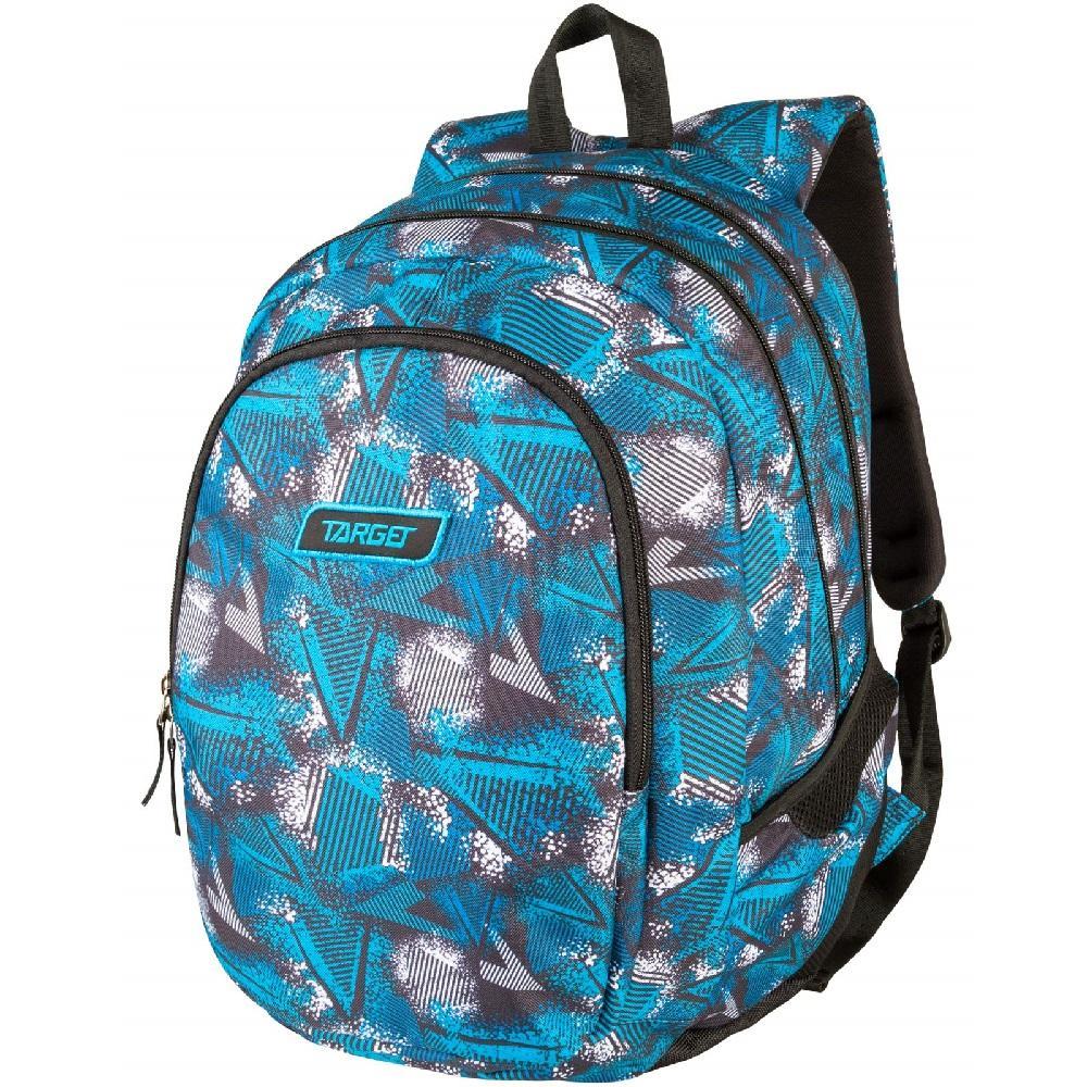 Купить Рюкзак детский Target 3 zip Target Abstract blue 26298,
